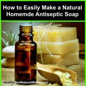 Make your own antiseptic soap