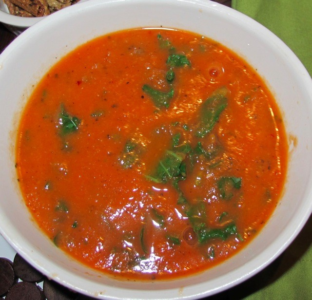 Organic Spicy Tomato Kale Soup Recipe | Extreme Natural Health News
