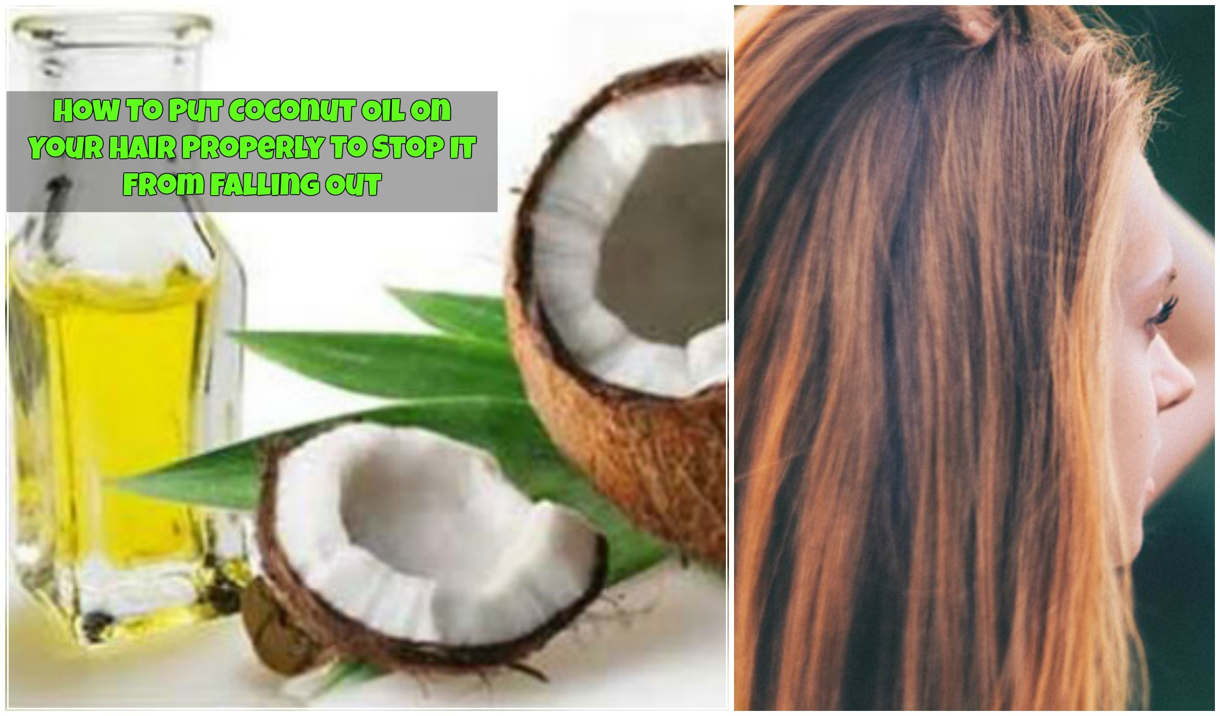 how to use coconut oil in your natural hair